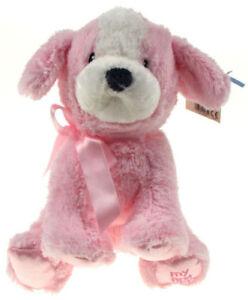 BULK-BUY-6-x-GUND-Pink-8-034-Soft-Plush-Dog-Age-0-upwards-Gift-plush