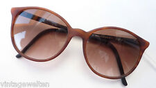 Eschenbach leichte Hornoptik Kunststoff Sonnenbrille braun Verlauf Gläser sizeM