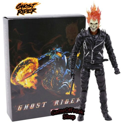 FIGURA GHOST RIDER John Blaze Marvel Figure 23 cm with box