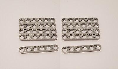 2x LEGO® Technic 32063 Liftarm//Balken glatt 1x6 dünn NEU perl hellgrau RAR