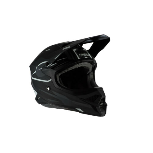 Black//White O/'Neal 3 Series Riff 2.0 Helmet 2020 MX Motocross Off-Road