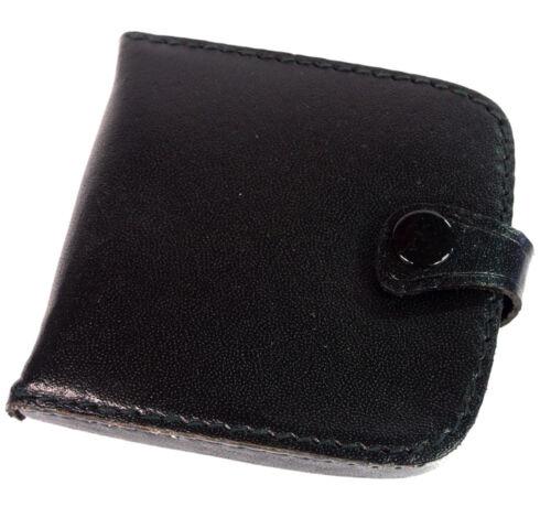 Porte monnaie cuvette avec rangement à billets en CUIR Homme bourse