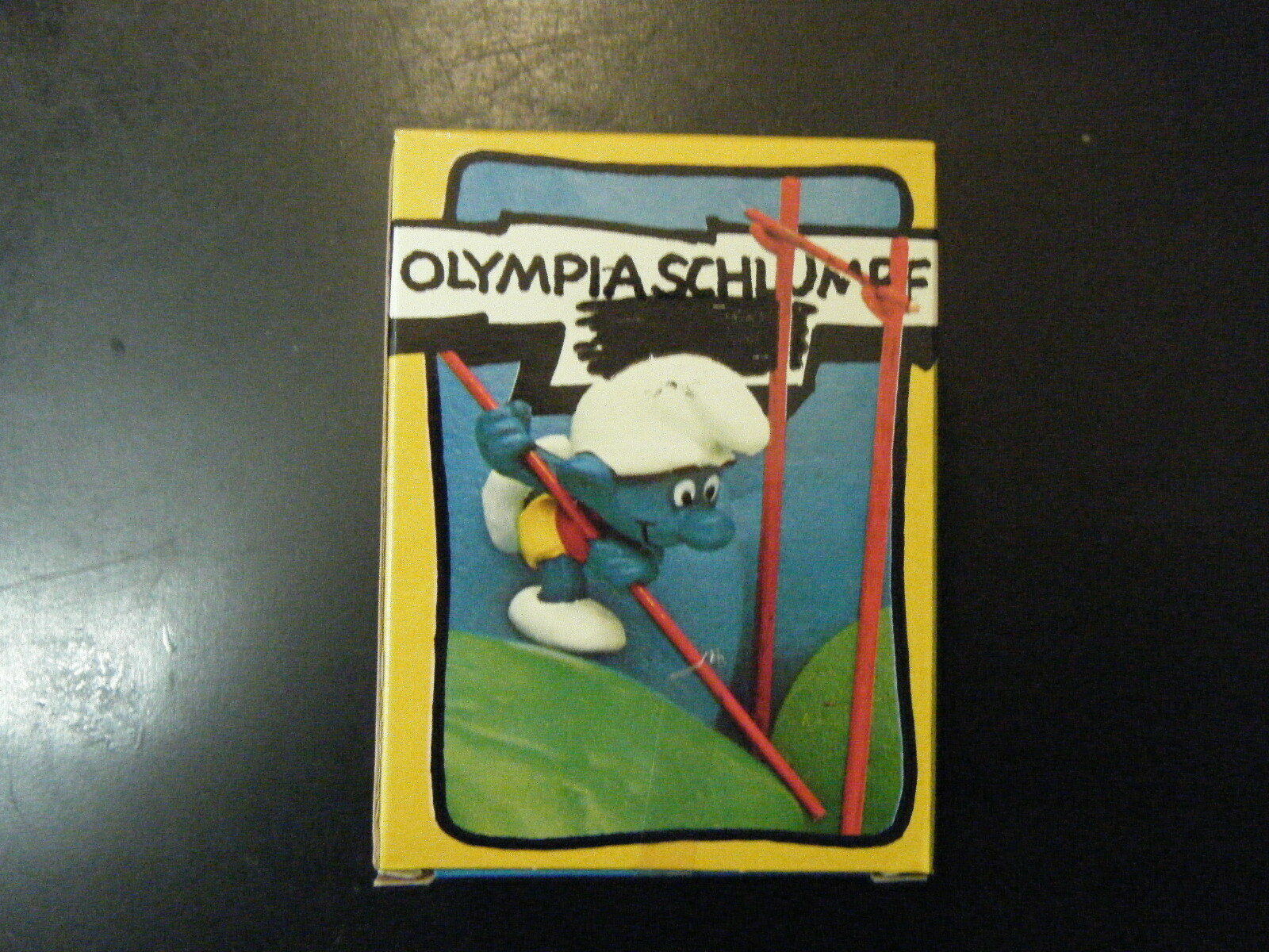 4.0506 SUPER SMURF – POLE VAULTER - NEW IN GERMAN BOX