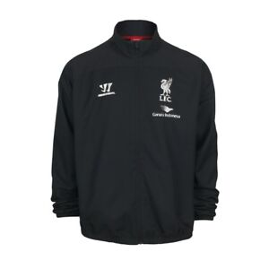 BOYS' NEW OFFICIAL LIVERPOOL FC TRACKSUIT TOP LICENSED FOOTBALL SOCCER JACKET