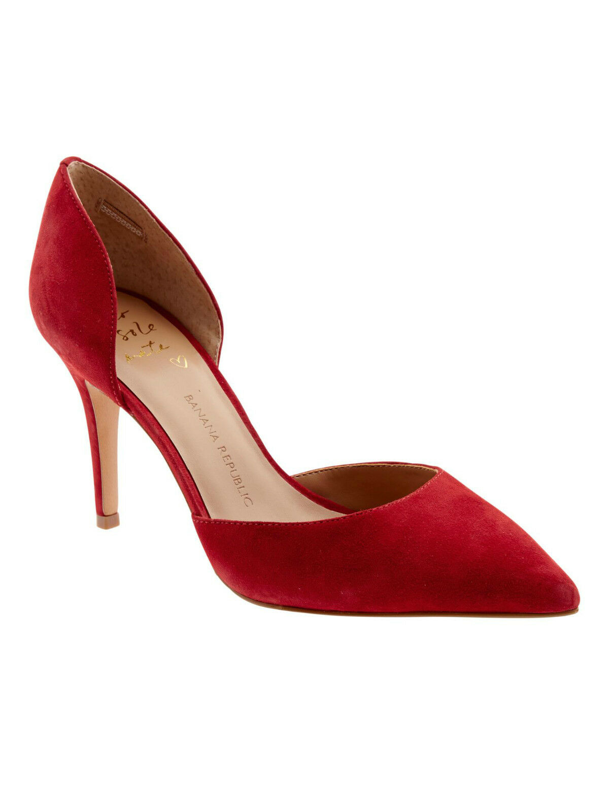 Banana Republic Alicia D'Orsay Pump, ROT SIZE 5.5 M     #183427
