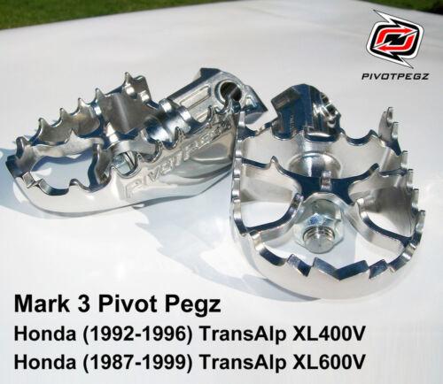 TransAlp XL400V 1992-1996 PIVOT PEGZ for Honda FREE BONUS