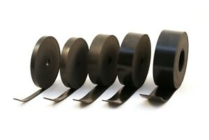 Rubber Strip 1mm Thick x 5m Long: Black General Purpose Solid Neoprene Rubber