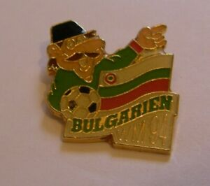WORLD-CUP-94-USA-SOCCER-BULGARIA-Limited-Edition-500-vintage-pin-badge-Z8J
