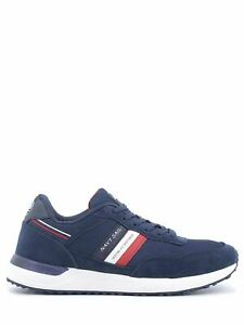 Navy Sail Sneakers Breath blu