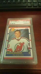 1990 91 Score 439 Martin Brodeur Rookie Card Psa 10 Gem Mint Nj