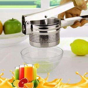Citron-Presse-fruits-en-acier-inoxydable-Juicer-Citron-Presse-Agrumes-Orange-Outil-Manuel-W
