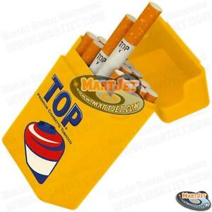 Strong-Box Flip Cigarette Case Kings Normal Regular 84mm Hard Crushproof Plastic