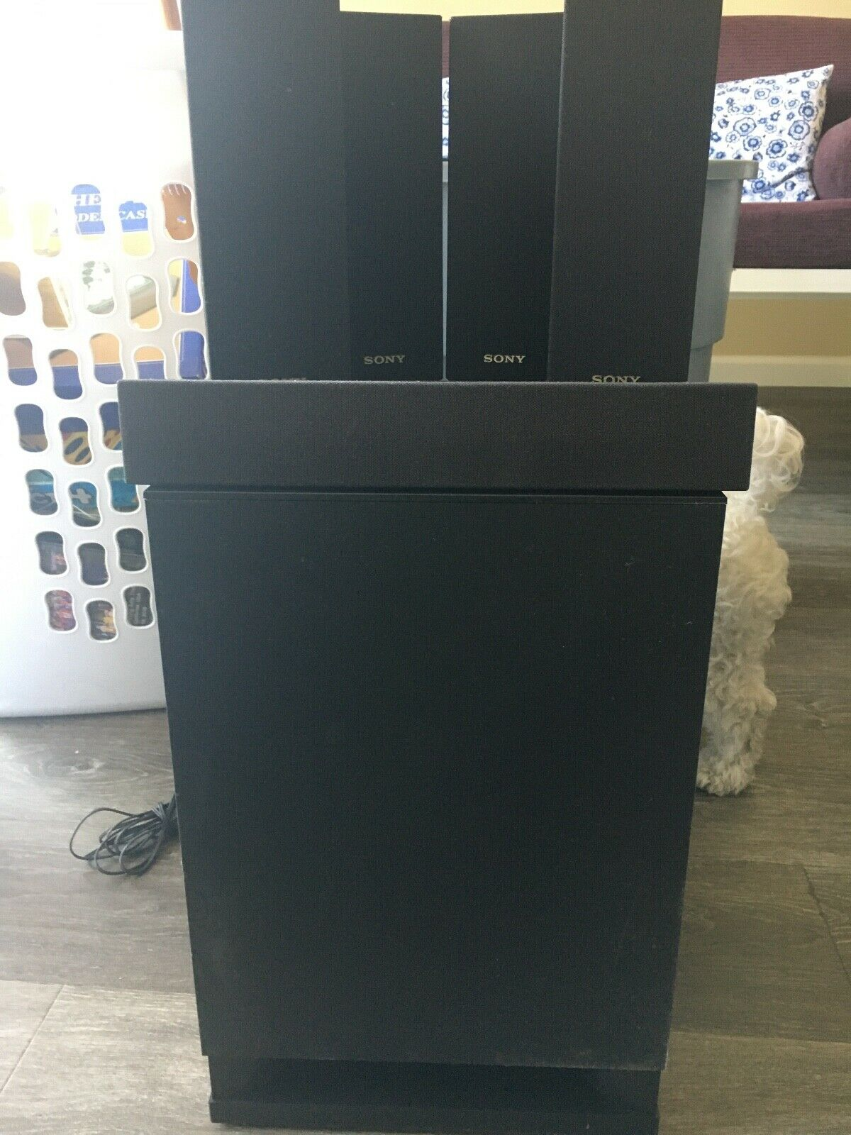 Sony BDV-T79 Surround Sound 5.1-Channel Home Theater System + 5 Speakers. Buy it now for 150.00