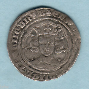 Great-Britain-1356-61-Edward-111-Groat-4d-MM-Cross-3-F-F