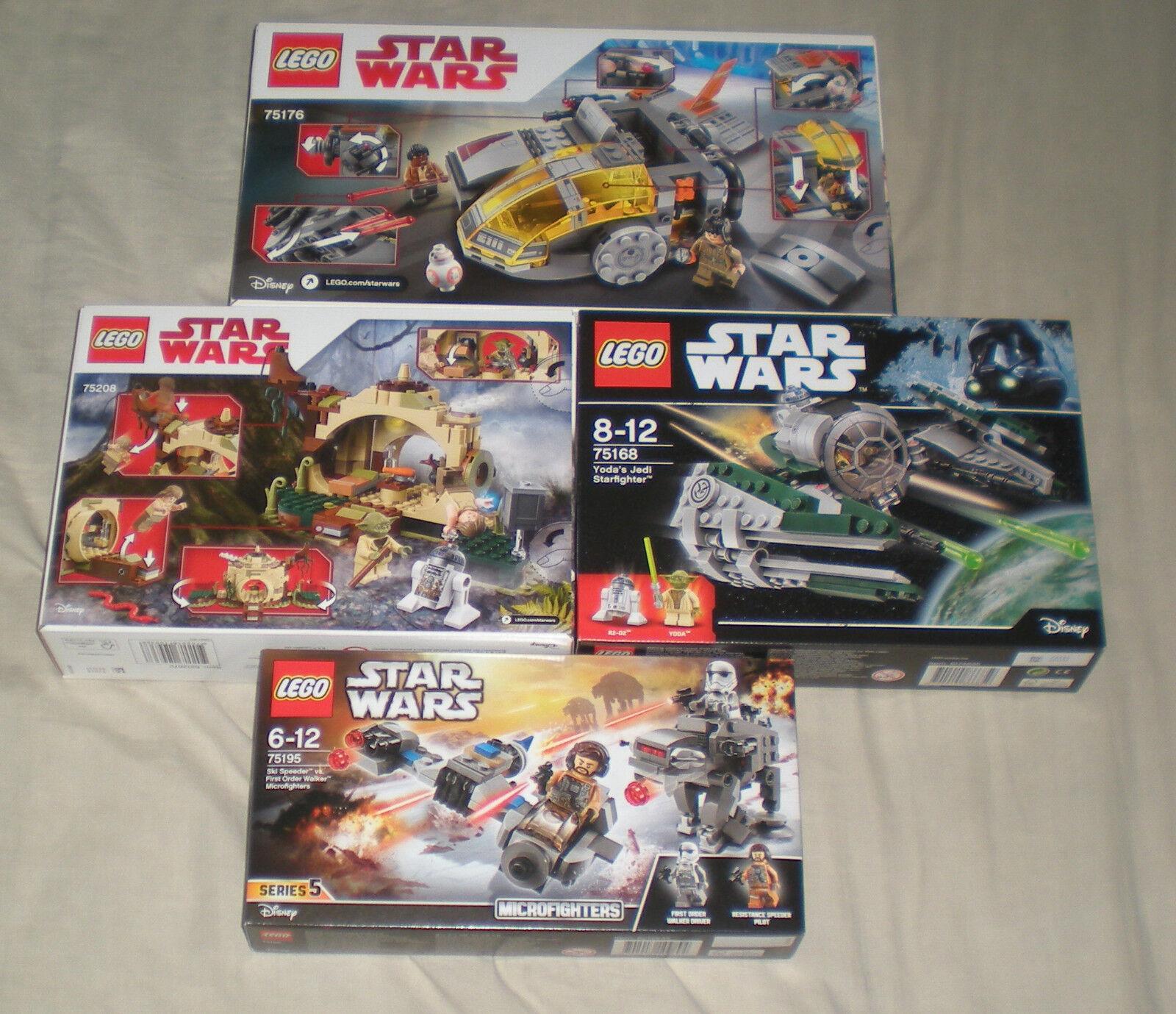Lego Star Wars - Job Lot  - 75195   75168   75176   75208 - Brand New