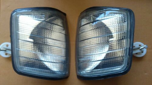 Right Set SMOKE NEW Mercedes 190 W201 1982-94 Turn Signal Light Indicator Left