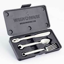 Wrenchware Cutlery Set, Mechanics Spanner Gift/Present Idea