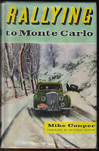 Rallying-to-Monte-Carlo-by-Mike-Couper-Pub-by-Ian-Allan-in-1956-original-1st-ed