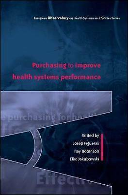 1 of 1 - Purchasing to improve health systems performance (European Ovservatory on Healt