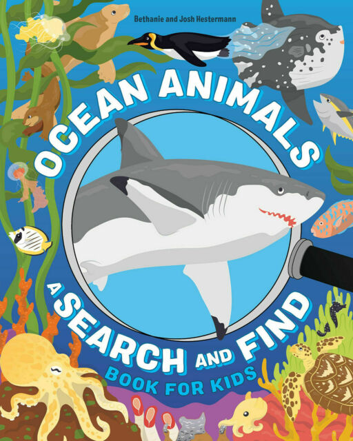Ocean Animals: A Search and Find Book for Kids Paperback
