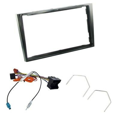 DFPK-19-01//SS VAUXHALL ZAFIRA 2005 ONWARDS DOUBLE DIN FASCIA CAGE FITTING KIT