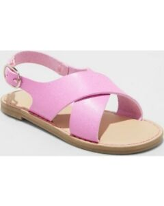 Cat /& Jack By Target Dara Sandals Toddler Girls Size 10 Gladiator Mint Green NEW