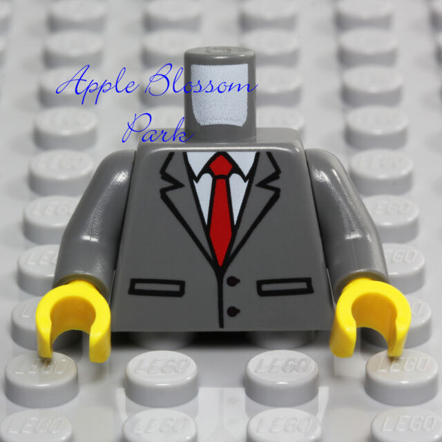 ☀️NEW LEGO MINIFIG MINIFIGURE City BLACK BRIEFCASE Business Suitcase Attache Bag