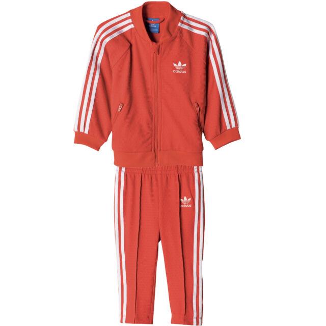 Adidas Originals Baby Jogginganzug Kleinkind Trainingsanzug Mädchen hausanzug