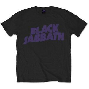 OFFICIAL-BLACK-SABBATH-T-SHIRT-Wavy-Logo-Vintage-All-Sizes-Ozzy-Osbourne