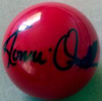 RONNIE O'SULLIVAN Signed SNOOKER BALL World Champion LEGEND  COA