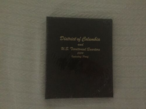 NEW!!! Dansco Coin Album # 8145 For D.C /& Territorial Quarters 2009 With Proofs
