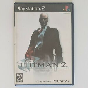 Hitman 2 Silent Assassin Ps2 Cib Complete W Manual Playstation