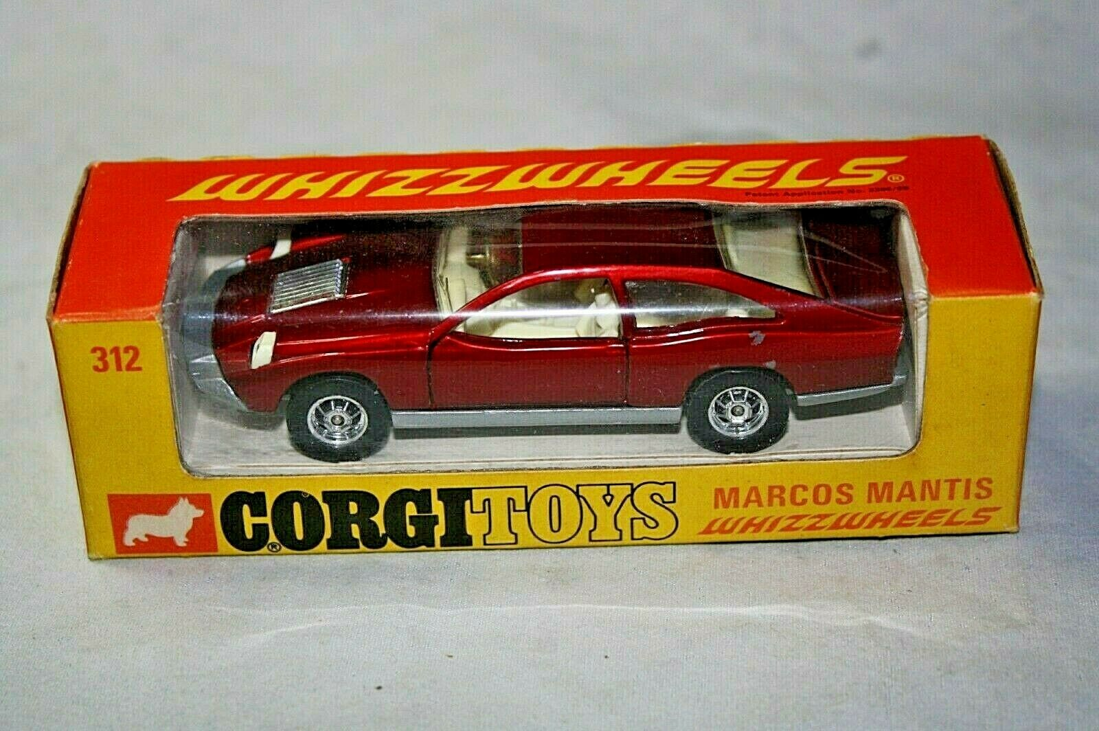 Corgi Marcos Mantis, Good Condition in Excellent Original Box