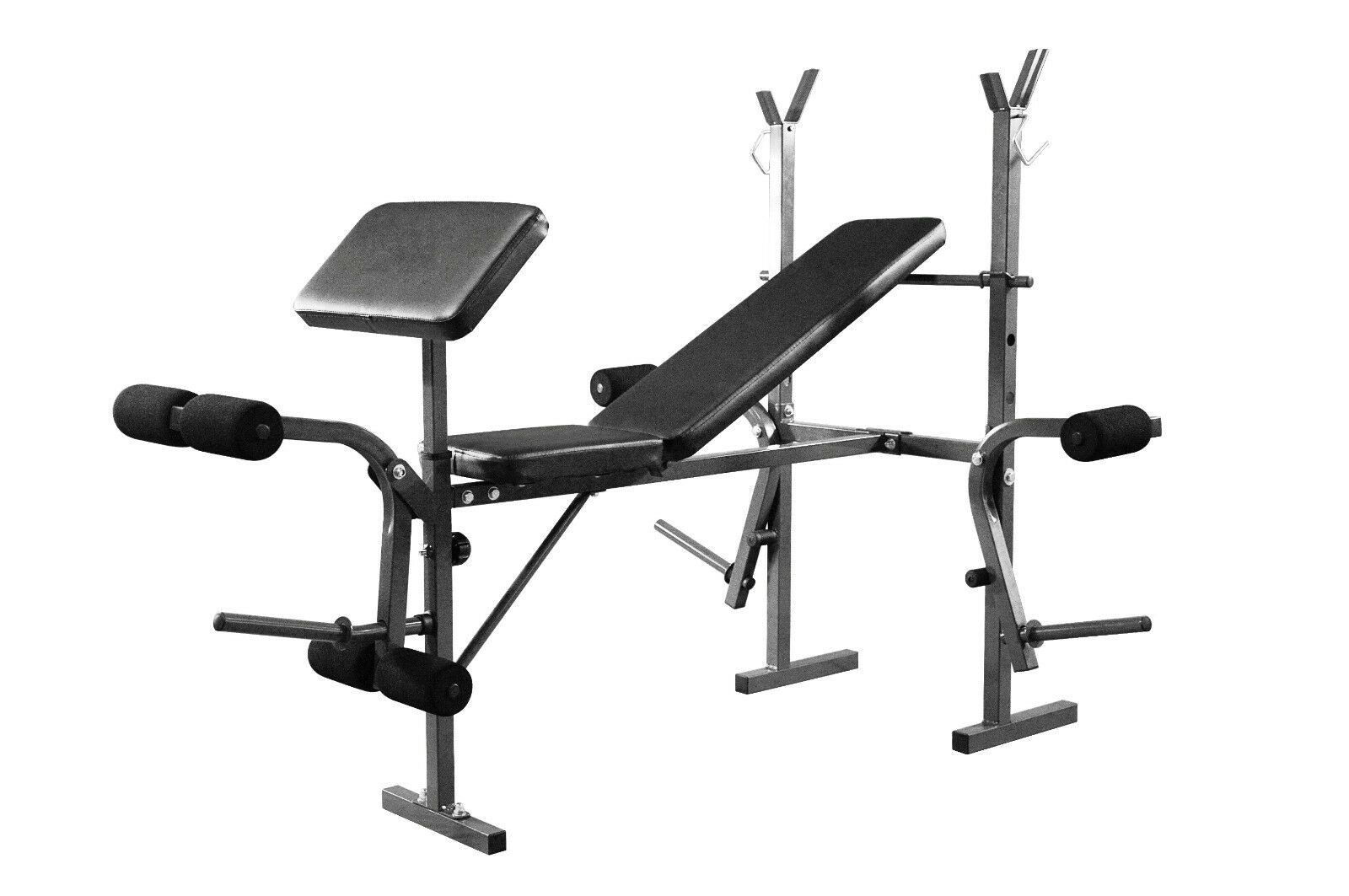Weight Training Preacher Bench Leg & Chest Fly Workout Adjustable Training Bench