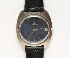 "Lorenz vintage 1970 automatic ""TV"" style steel new old stock unworn"