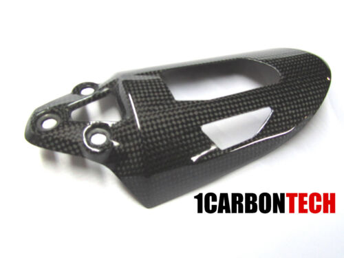 DUCATI 899 959 1199 1299 CARBON FIBER SHOCK SPRING COVER AND HEEL GUARDS