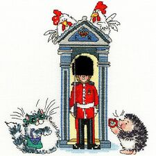 BOTHY THREADS LONDON ON PARADE CROSS STITCH KIT SENTRY GUARD