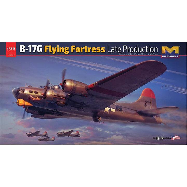 HK Models E030 1 32 B-17G Flying Fortress