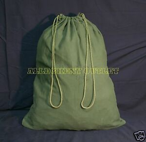 Details About Usgi Barracks Laundry Bag Cotton Duffle Storage Us Military Army Lot Of 2 Good