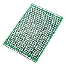 80*120mm Double-Side Prototipo Board PCB, FR-4 Glass Fiber board 12x8