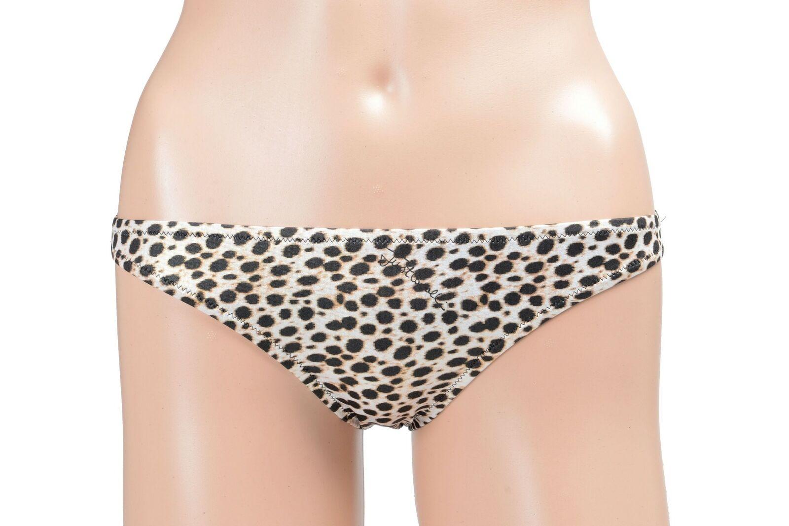 Just Cavalli Beachwear Damen Tiermuster Bikini Unten