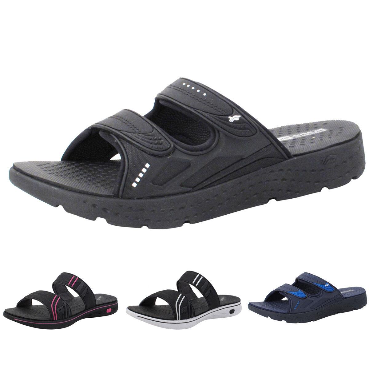 EVA Anti-Fatigue Ultra Light Weight Indoor Outdoor Slide Sandals for Men & Women