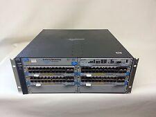J8697A HP ProCurve switch 5406zl +80 Gigabit ports 4x J8705A PoE 2x J8712A PSU