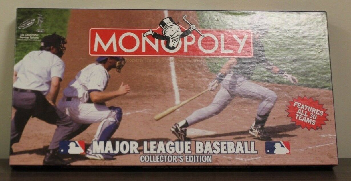 2005 Major League Monopoly gioco  Collectible.  punto vendita