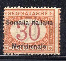 FRANCOBOLLI 1906 SOMALIA SEGNATASSE 30 CENTESIMI MNH D/9661