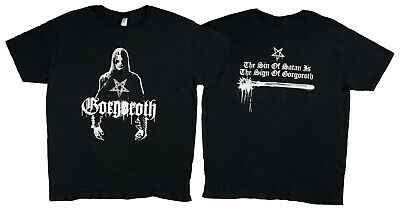 GORGOROTH band OFFICIAL merch BLACK METAL t-shirt alternative fashion size L XL