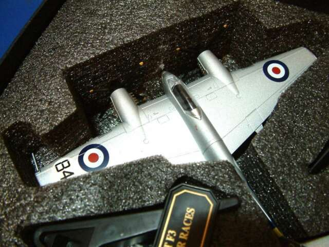 OXFORD Diecast 72HOR005 DH 103 Hornet F3 PX386 Kings Cup Air Races. 1:72 Coffret