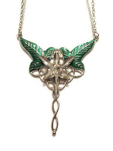 Il Signore degli Anelli Lo Hobbit Collana Ispirata Stella Vespro foglie Lòrien