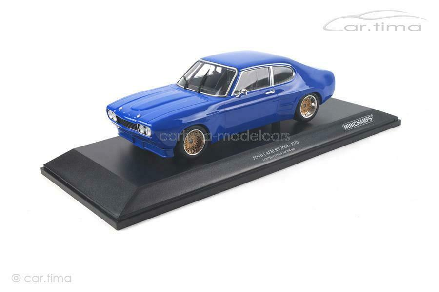 Ford RS 2600 1970-bluee-Minichamps - 1 18 - 155708501