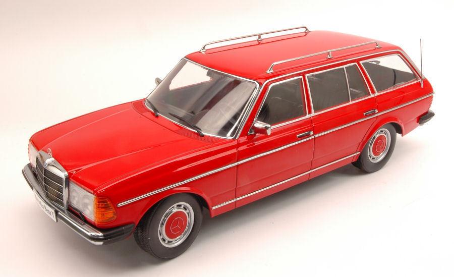 1 18 KK-scale mercedes-benz 250t w123 coche familiar año de construcción 1978-82 rosso metalizado